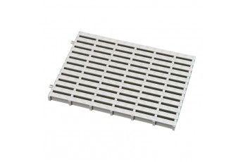 Griglia piscina bianca. larghezza330 mm x h 25 mm. 30 pz