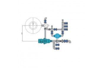 Impianto Filtrazione Piscina Bordo Sfioratore. 22 Mc/h.