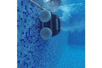 Robot Piscina Senza Fili Marlin Super Power- Con Alimentatore E Ricarica Fissa